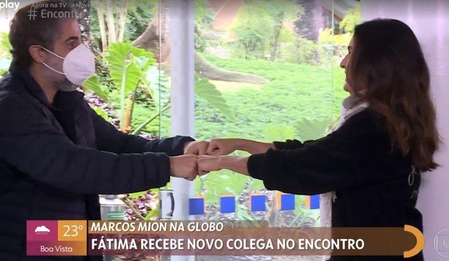 Marcos Mion e Fátima Bernardes