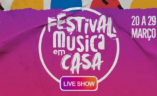 'Festival Música em Casa' reúne grandes nomes do meio artístico para shows virtuais