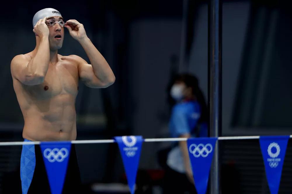 Scheffer brigará por medalha na final dos 200m livre