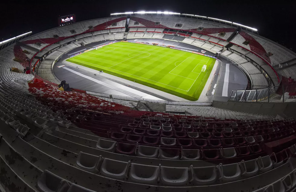 Estádio onde o Fluminense vai jogar em Buenos Aires contra o River