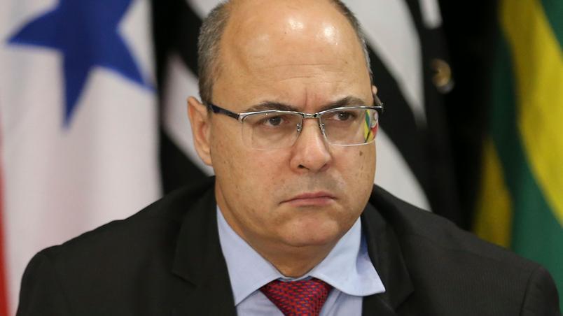 Na imagem, ex-governador do Rio, Wilson Witzel