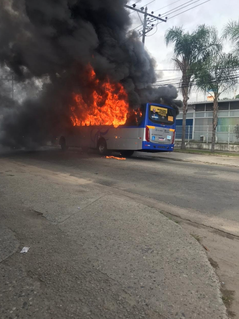 incendio onibus