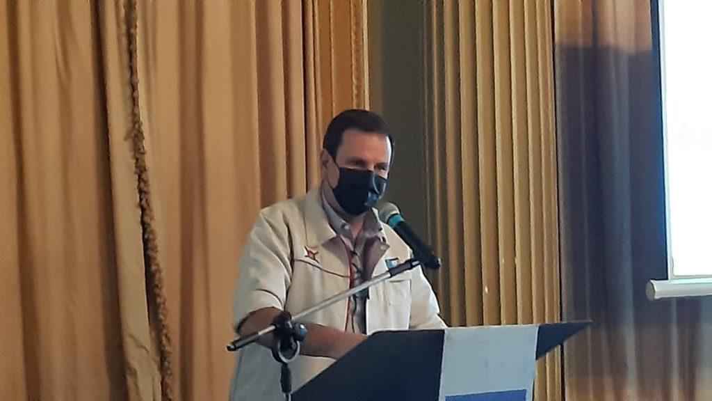 Eduardo Paes falando em evento no Palácio da Cidade