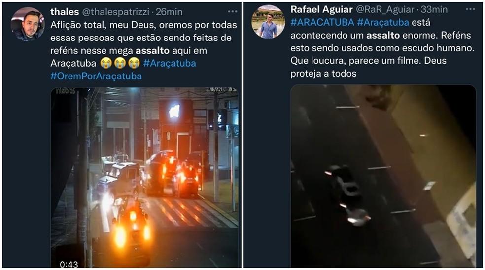 Sequestro na cidade de Araçatuba, em SP