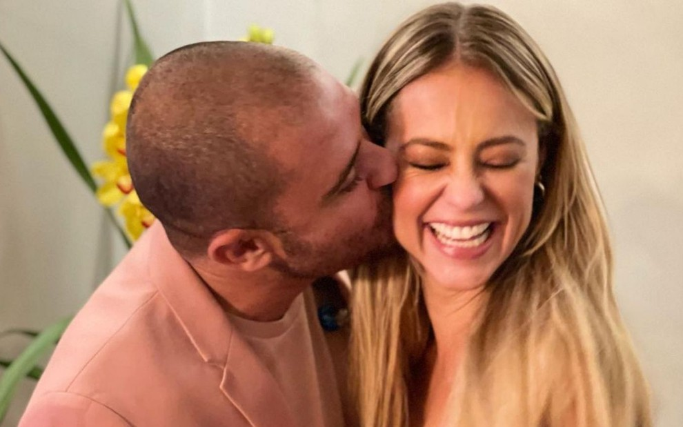 Paola Oliveira e Diogo Nogueira