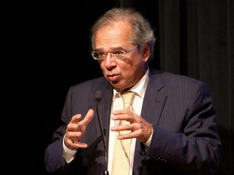 Imagem do ministro Paulo Guedes