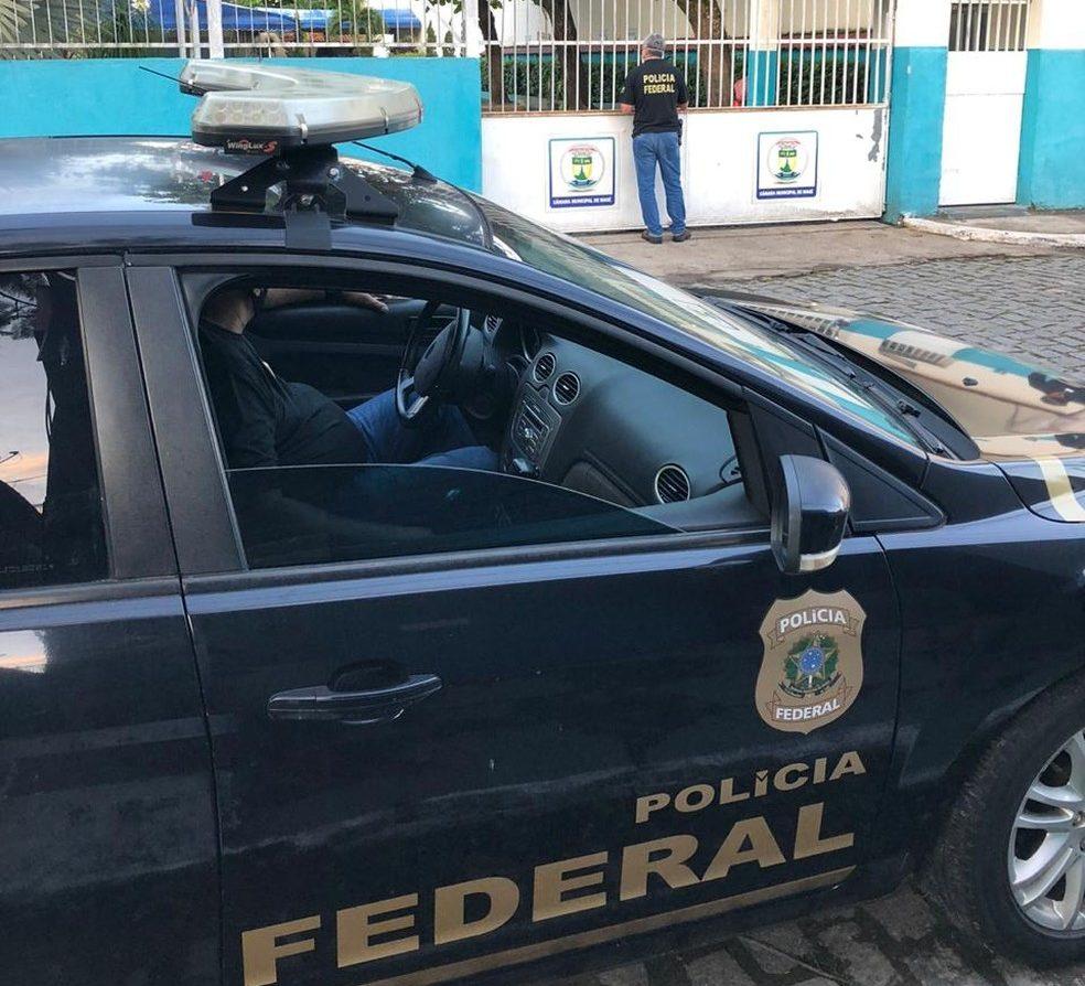 imagem da viatura da Polícia Federal