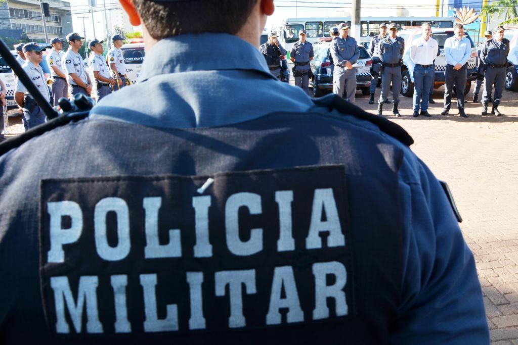Foto de um policial militar