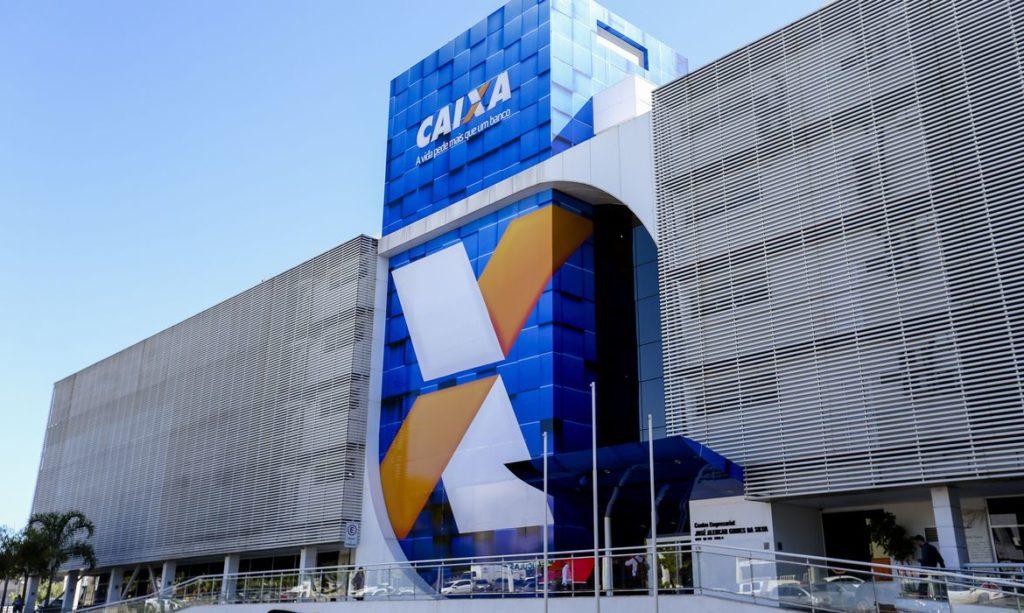 Prédio da Caixa Econômica Federal em Brasília