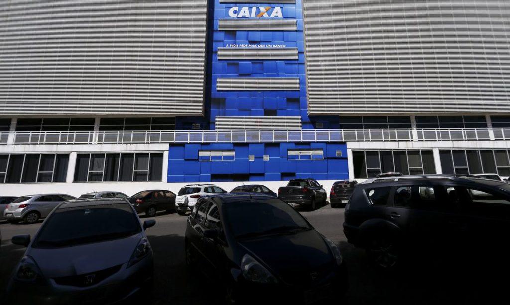 Brasília: Prédio da Caixa Econômica Federal.