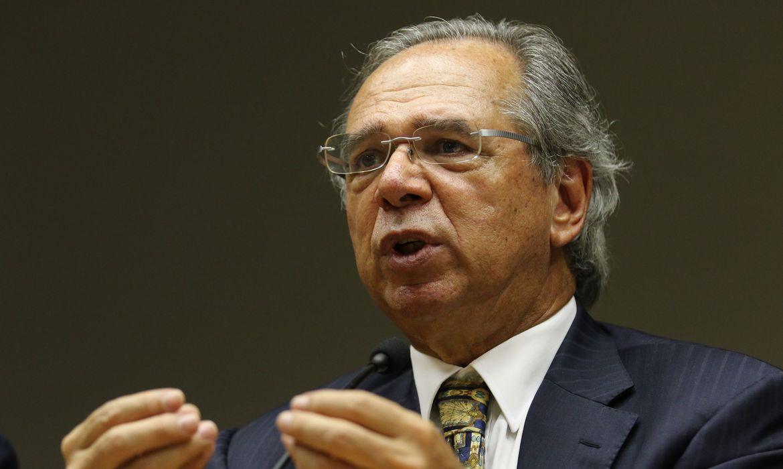 imagem do Ministro da Economia Paulo Guedes