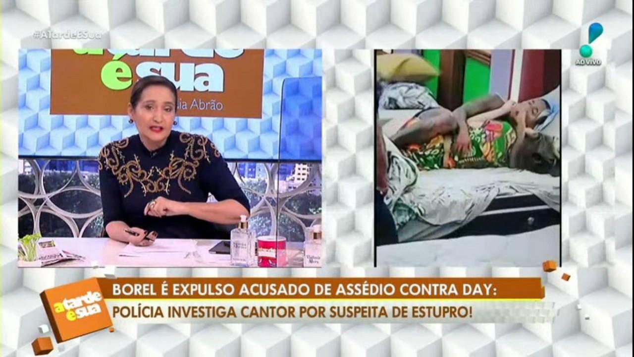 """Sônia Abrão durante o programa """"A Tarde É Sua"""" desta segunda-feira (27)"""