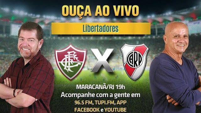 Ao vivo: Fluminense x River Plate