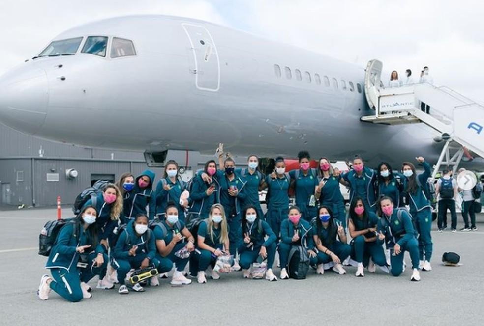 Seleção Brasileira feminina de futebol embarca para o Japão, país no qual será disputado os Jogos de Tóquio