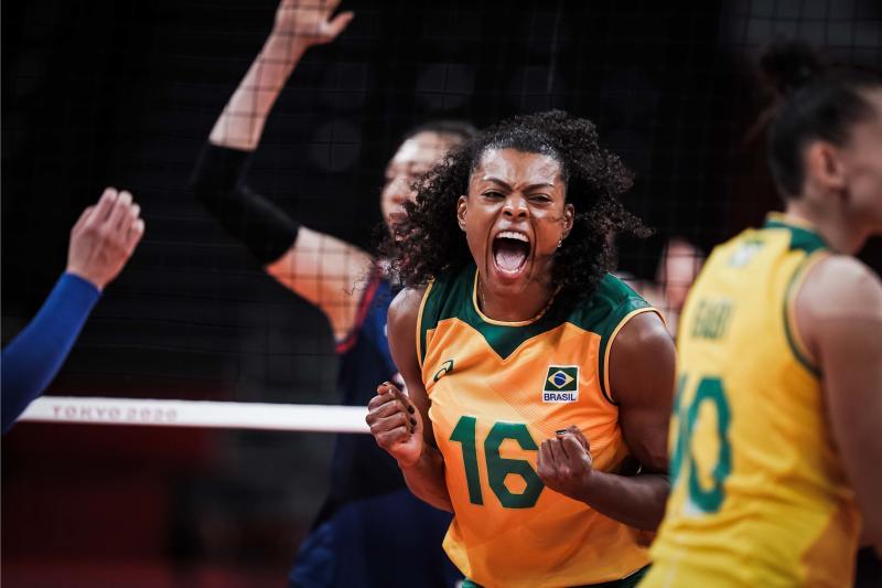 Brasil estreia com vitória sobre a Coreia do Sul no vôlei feminino nos Jogos de Tóquio
