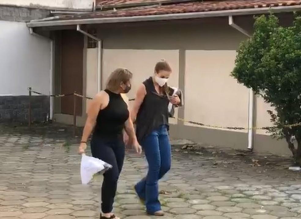 Suzane deixa penitenciária em Tremembé para saída temporária
