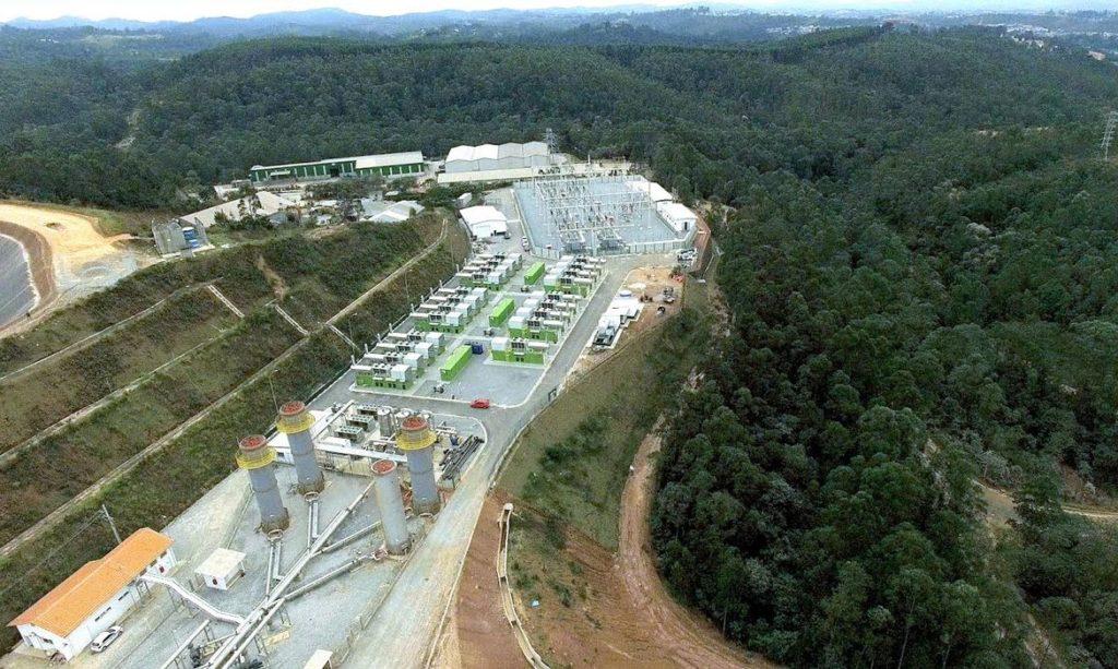 Imagem de uma termelétrica