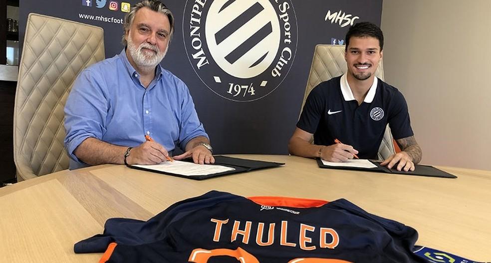 Thuler assina contrato com o Montpellier, da França