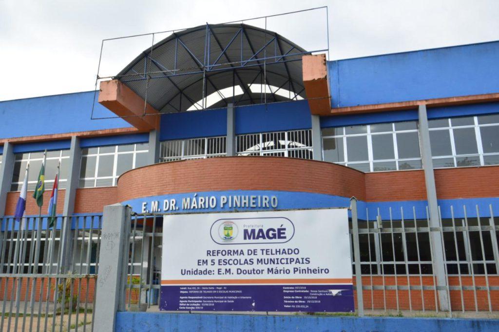 Escola municipal em Magé