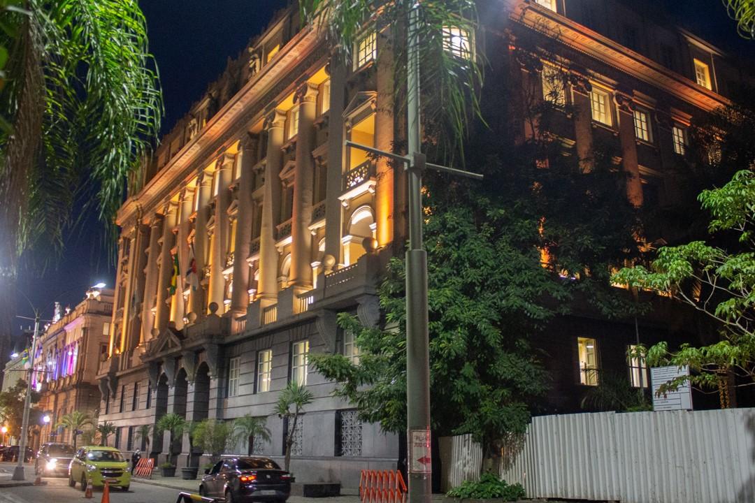 Imagem do prédio do museu da justiça do Rio