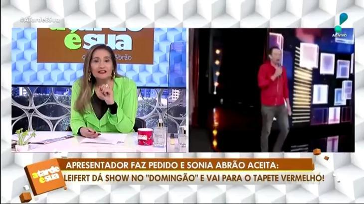 Sônia Abrão Tiago Leifert