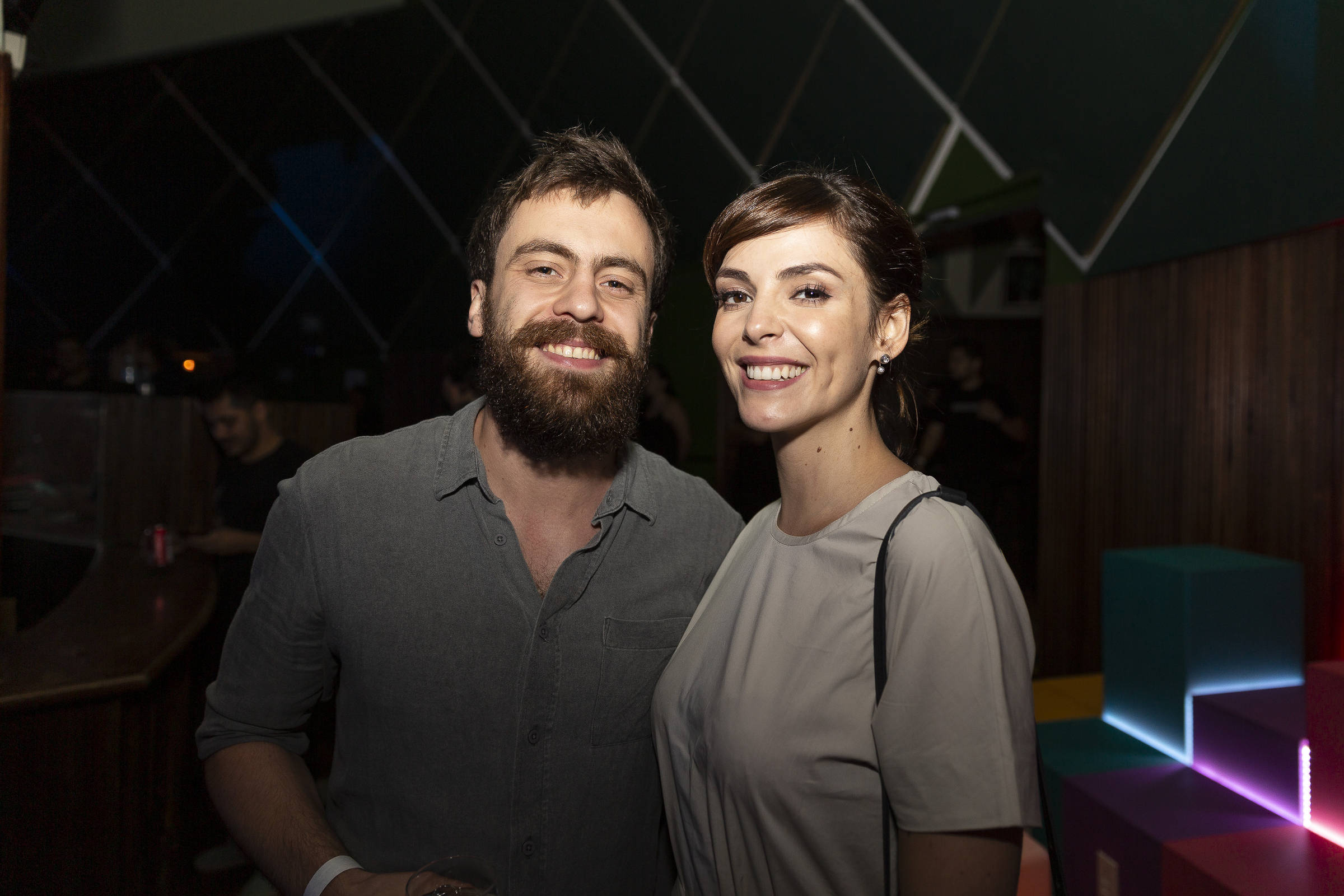 Titi Müller e Tomas Bertoni