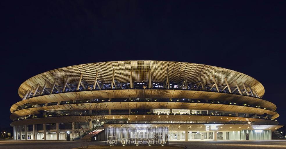 Estádio Nacional, em Tókio