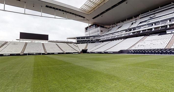 Neo Química Arena, estádio do Corinthians, em São Paulo