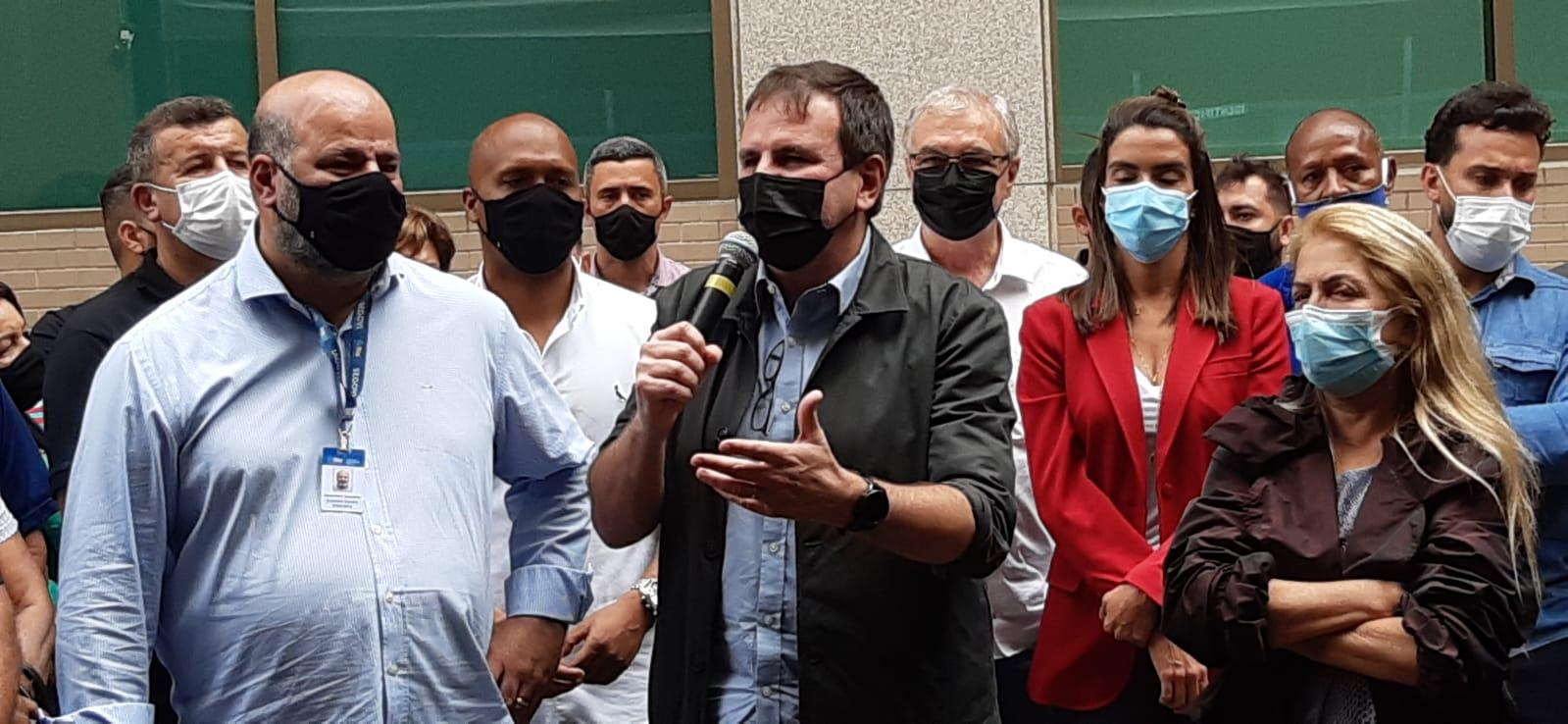 Imagem do prefeito Eduardo Paes
