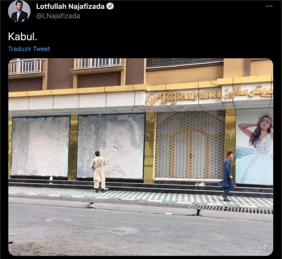 Talibã retoma poder em Cabul, capital do Afeganistão