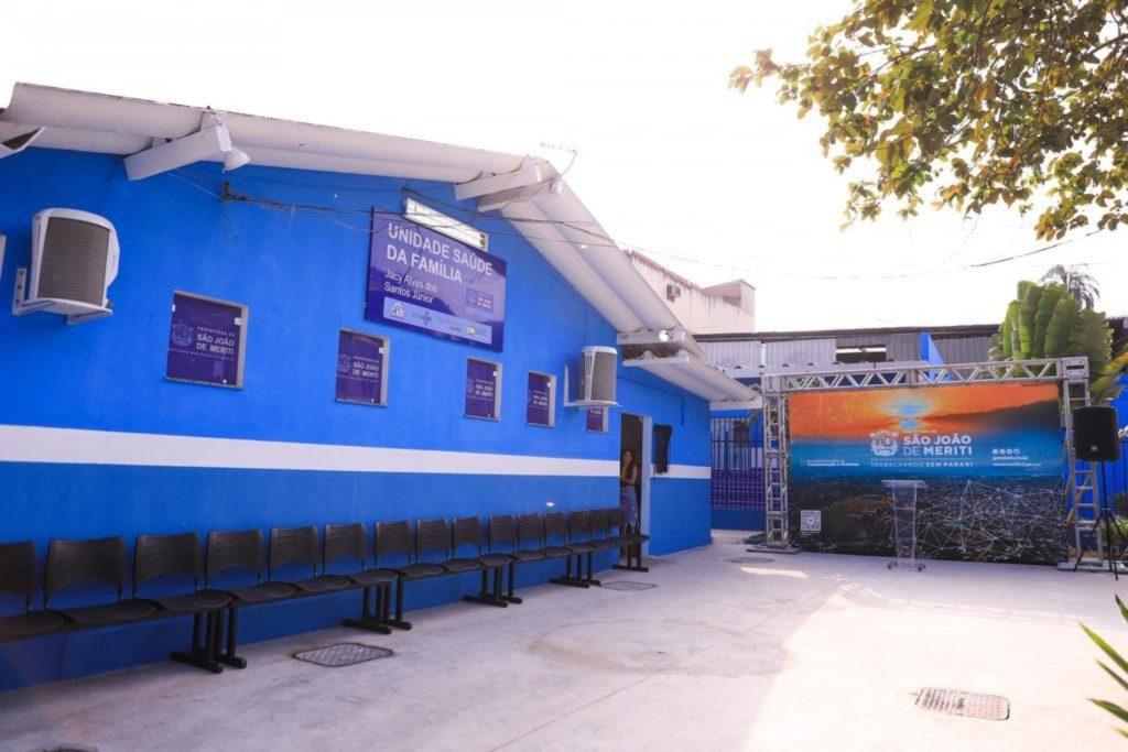 Nova unidade de saúde em São João de Meriti