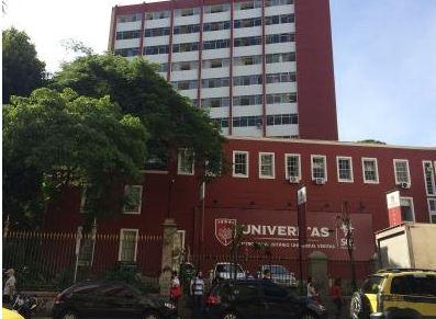 Na imagem, frente da Univeritas