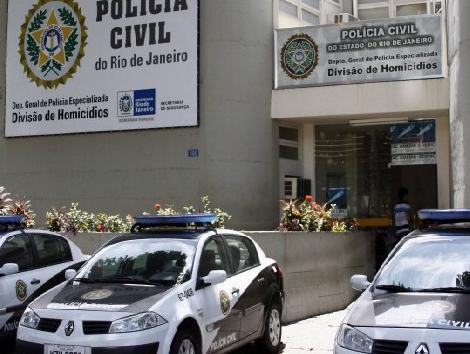 Imagem da delegacia de Homicídios