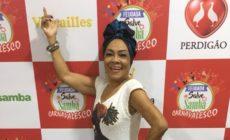 Vilma Nascimento, famosa porta-bandeira da Portela, sofre acidente e deve passar por cirurgia