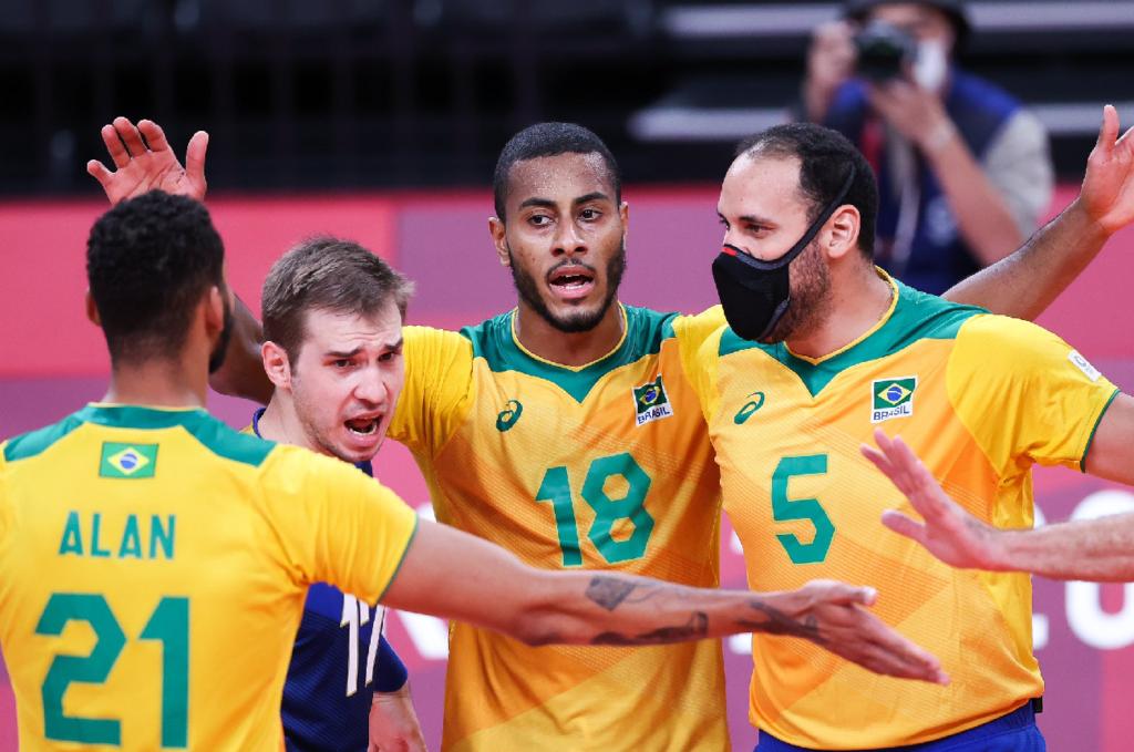 Brasil perde no tie-break e encerra participação sem medalhas