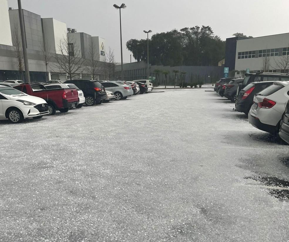 Neve em Curitiba