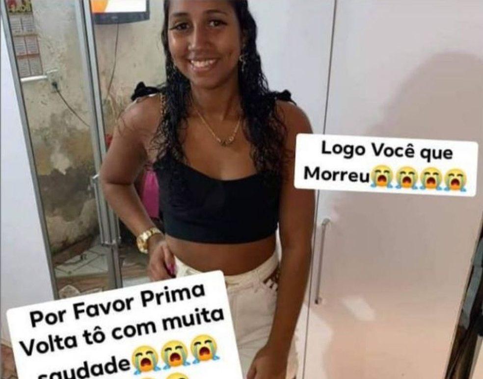 Débora Adelino da Conceição, morta pelo namorado no Complexo da Maré