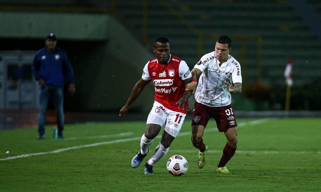 Jhon Arias acerta com o Fluminense e deve chegar semana que vem ao Rio de Janeiro para realizar exames médicos e assinar contrato